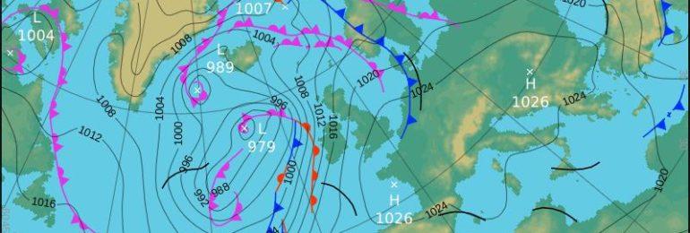 Ψυχρό μέτωπο επηρεάζει την περιοχή από τα βορειοδυτικά!!!