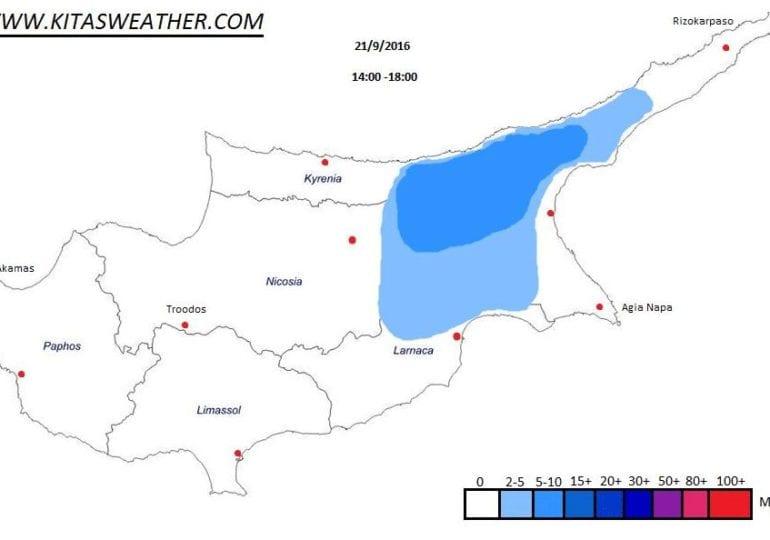 Τοπικές βροχές και καταιγίδες συνεχίζουν το επόμενο 48ωρο