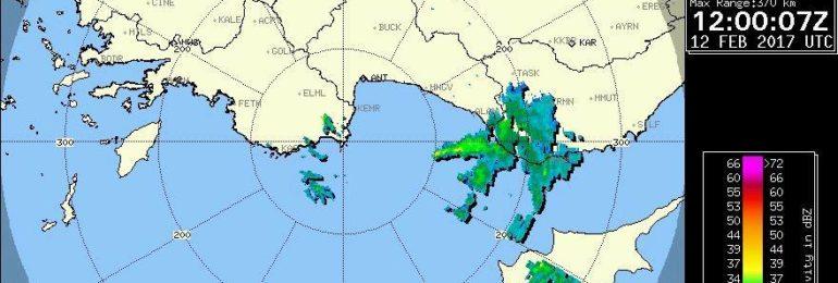 Σημειώνονται βροχές, καταιγίδες, χαλαζοπτώσεις και χιόνια!!