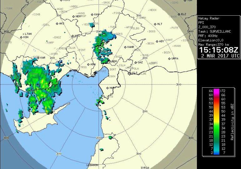 Βροχές και καταιγίδες θα επηρεάσουν όλο το νησί από τα δυτικά τις επόμενες ώρες