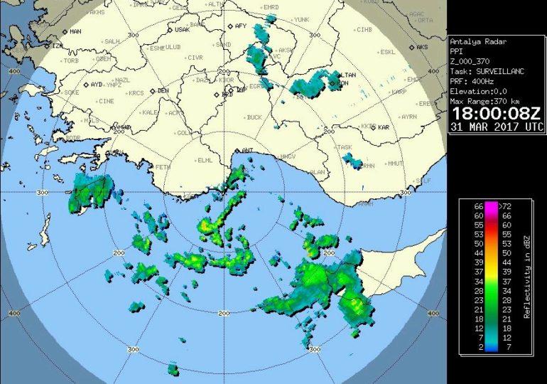 Προσοχή!!! Προσεγγίζει ισχυρή καταιγίδα τη Λεμεσό!