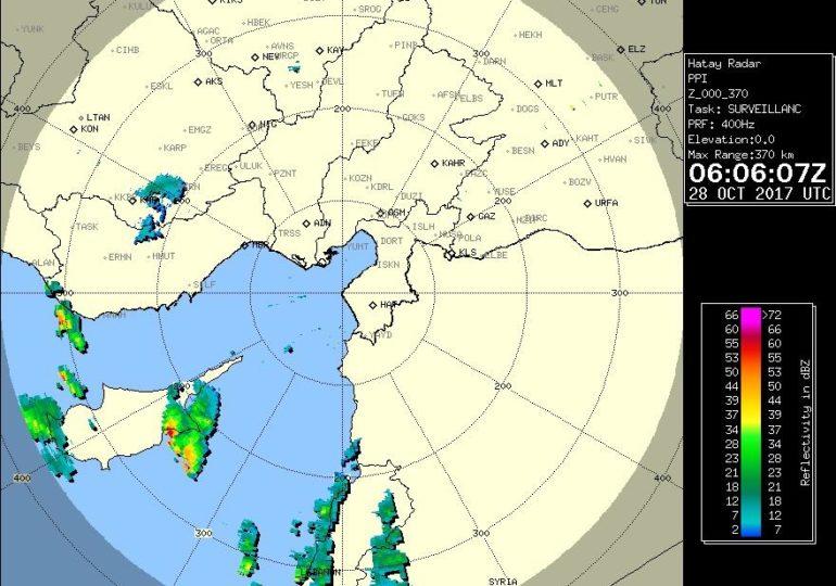 Έντονη καταιγίδα επηρεάζει νοτιοανατολικά τμήματα του νησιού