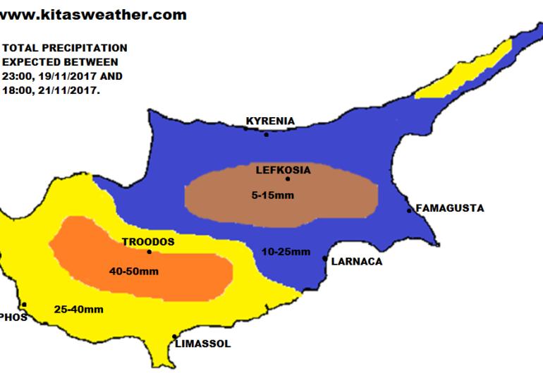 Επιδεινώνεται ο καιρός τις επόμενες ώρες με βροχές, καταιγίδες και αισθητή πτώση θερμοκρασίας