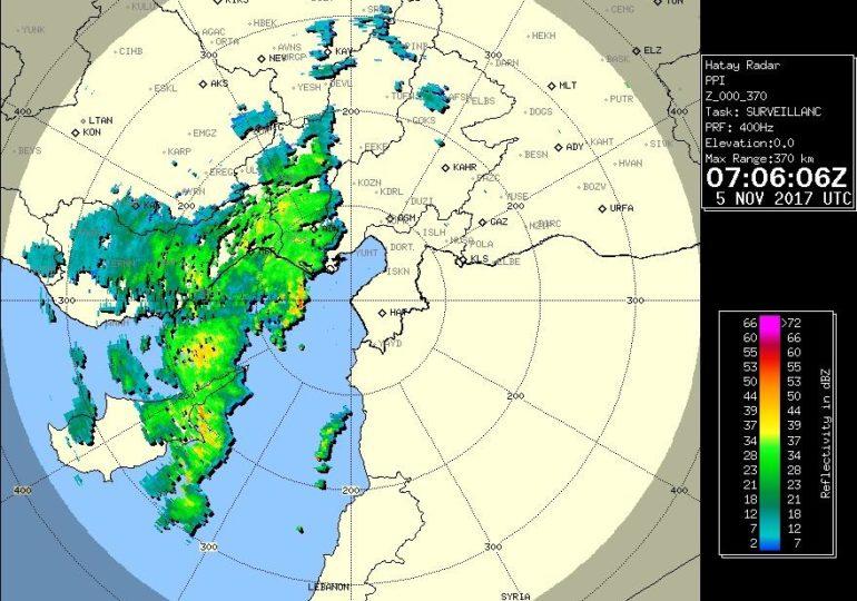 Ευεργετικές βροχές πέφτουν σε όλη την Κύπρο