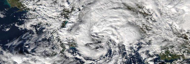 Κτυπά την Ελλάδα ο Μεσογειακός Κυκλώνας NUMA -  Φέρνει βροχές και στην Κύπρο