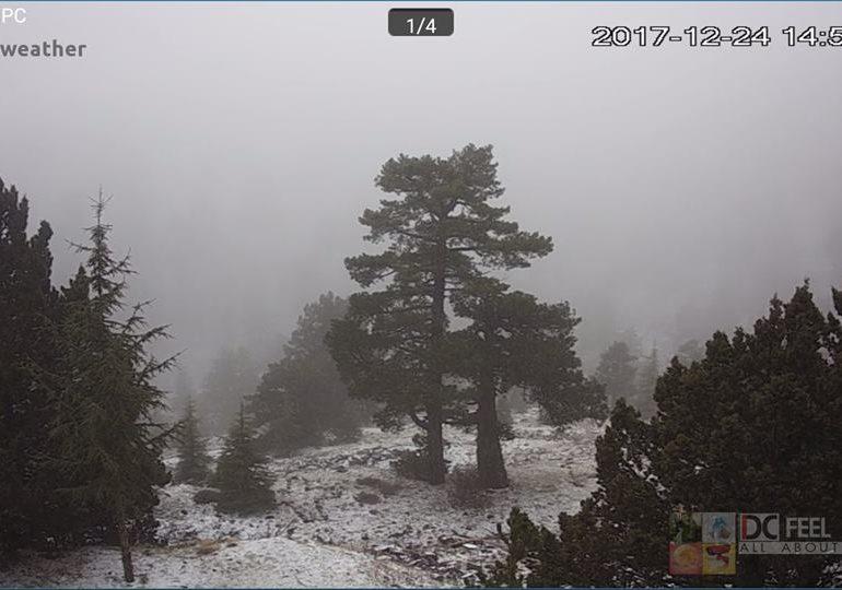Παρακολουθήστε τη χιονόστρωση μέσα από τις κάμερες του Kitasweather