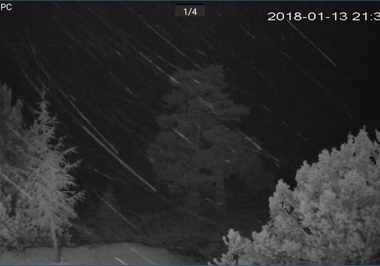 Στο Τρόοδος σημειώνεται χιονοκαταιγίδα (21:30)