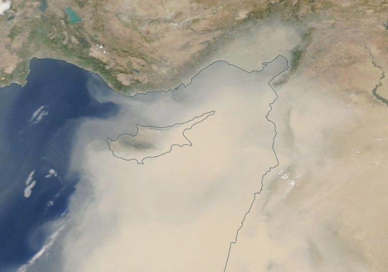 Πώς παρακολουθείται το φαινόμενο της σκόνης στην Κύπρο