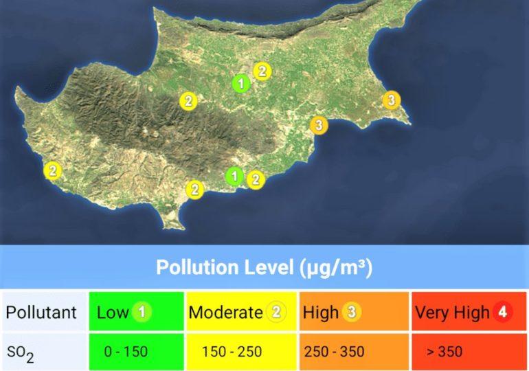 Πυκνή σκόνη και ψηλές θερμοκρασίες αύριο στην Κύπρο