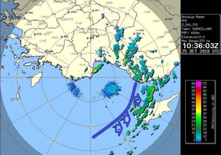 Ψυχρό μέτωπο φέρνει βροχές, ενίσχυση ανέμων και αισθητή πτώση θερμοκρασίας