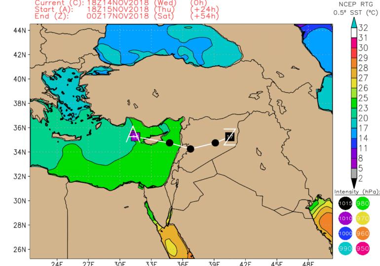 """Βαρομετρικό χαμηλό """"Express"""" θα φέρει τοπικές βροχές/καταιγίδες, κυρίως απόψε και αύριο"""