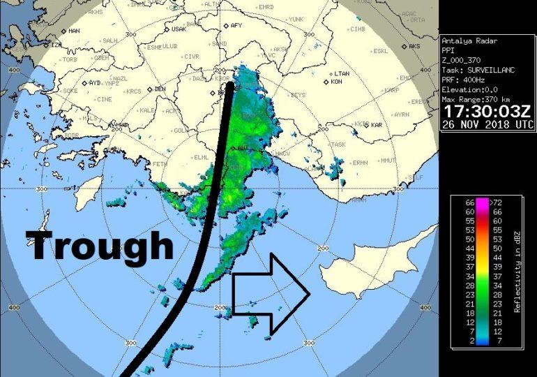 Λίγες τοπικές βροχές απόψε - Περισσότερες στο τέλος της εβδομάδας