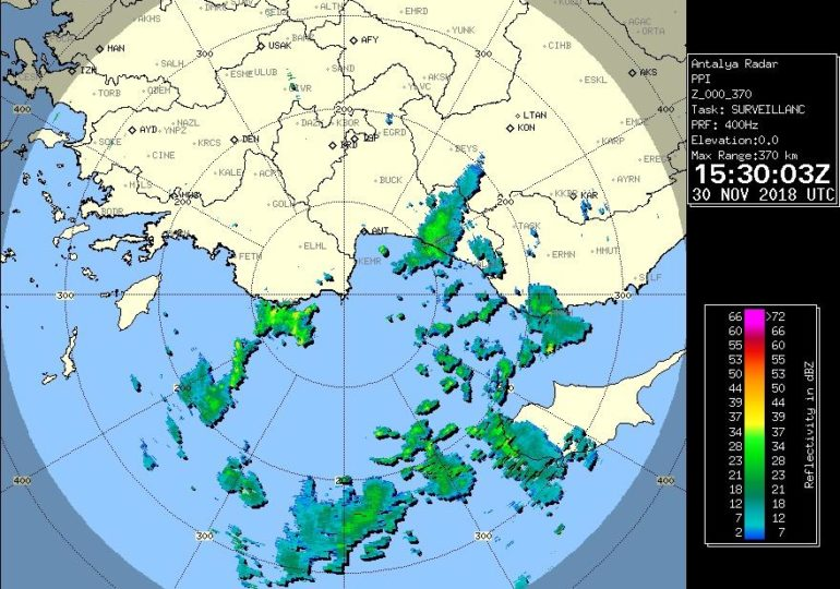 Συνεχίζουν απόψε οι βροχές/καταιγίδες κατά διαστήματα - Νέο υποσχόμενο βαρομετρικό χαμηλό την ερχόμενη εβδομάδα
