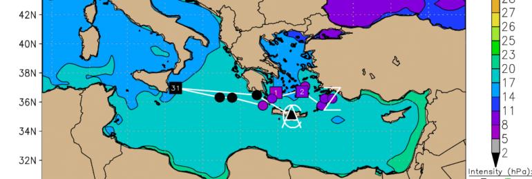 Έρχεται ο Δαίδαλος και φέρνει πάρα πολλές βροχές και χιόνια (Update 1)