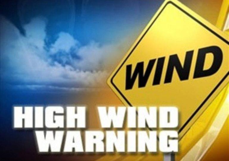 Κίτρινη προειδοποίηση για πολύ ισχυρούς έως θυελλώδεις δυτικούς ανέμους