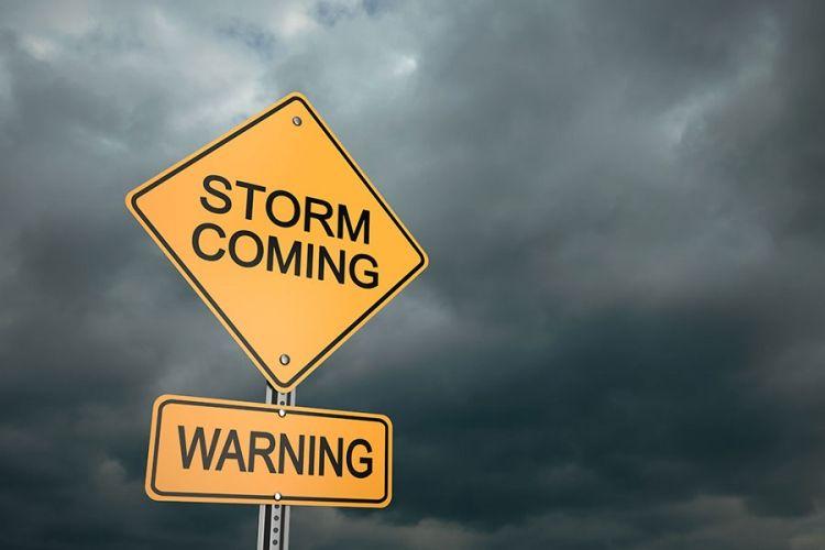 Κίτρινη Προειδοποίηση για πολύ ισχυρούς έως θυελλώδεις δυτικούς ανέμους, ισχυρές ή/και ακραίες καταιγίδες και βαριές χιονοστρώσεις