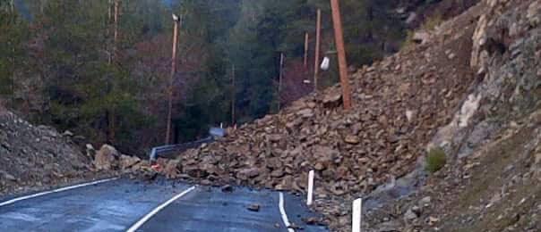 Κατάσταση οδικού δικτύου λόγω των καιρικών συνθηκών (06:39) και ύψος χιονιού
