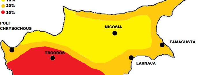 Κίτρινη προειδοποίηση από Kitasweather για μεγάλα ύψη βροχής και ισχυρές ή/και ακραίες καταιγίδες