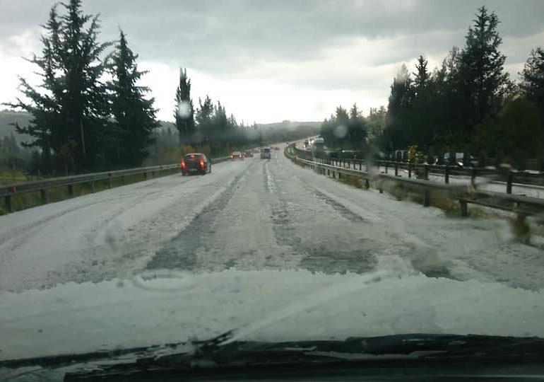 Ισχυρές καταιγίδες κατευθύνονται προς τον αυτοκινητόδρομο Λεμεσού - Λευκωσίας / Λεμεσού - Λάρνακας ⚠️⚠️⚠️
