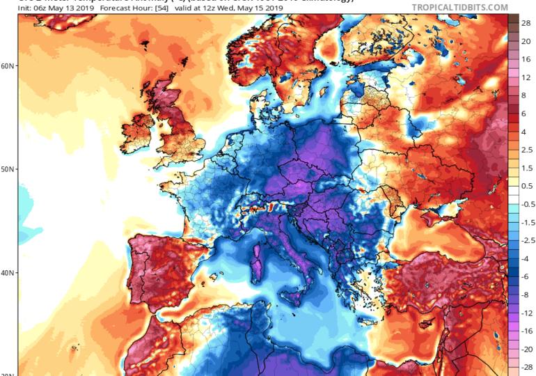 Έρχονται θερμοκρασίες Ιουλίου τις επόμενες ημέρες