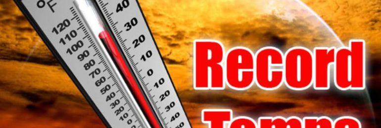 Μόλις σπάσαμε νέα ρεκόρ θερμοκρασιών Μαΐου