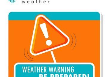 Πορτοκαλί προειδοποίηση από Kitasweather για τοπικά ισχυρές καταιγίδες και μεγάλα ύψη βροχής (Update 1, 19:15)