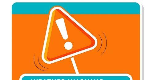 Πορτοκαλί προειδοποίηση από Kitasweather για τοπικά ισχυρές ή/και ακραίες καταιγίδες