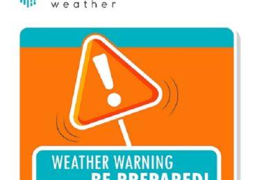 Πορτοκαλί προειδοποίηση από Kitasweather για τοπικά ισχυρές ή/και ακραίες καταιγίδες την Κυριακή