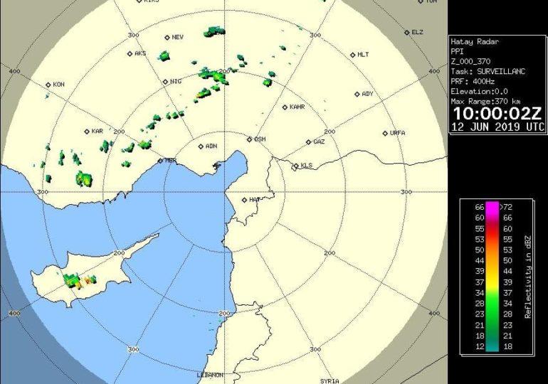 Έκτακτο δελτίο - Ισχυρές καταιγίδες σε εξέλιξη (Updated 14:05)