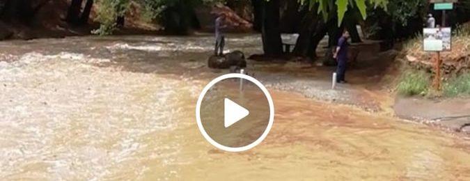 Απίστευτες εισροές νερού στα μέσα Ιουνίου