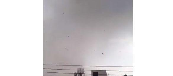 4 Ανεμοστρόβιλοι (Land Spout) επηρέασαν την επαρχία Λευκωσίας (Εικόνες/Βίντεο)