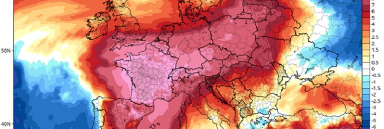 Ιστορικός καύσωνας άρχισε να επηρεάζει την Ευρώπη - Διαβάστε πως επηρεάζεται η Κύπρος