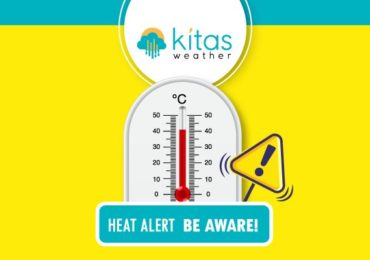 Νέα κίτρινη προειδοποίηση υψηλών θερμοκρασιών από Kitasweather για σήμερα Δευτέρα (6/7)