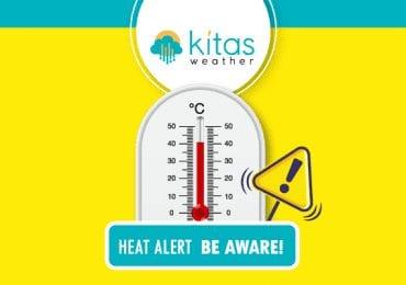 Κίτρινη προειδοποίηση υψηλών θερμοκρασιών από Kitasweather για αύριο Πέμπτη (21/5)
