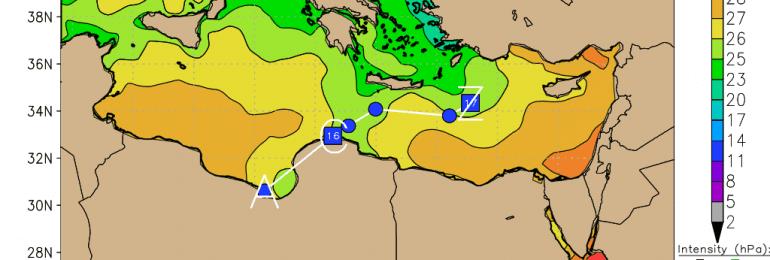 Αυξάνονται οι πιθανότητες βροχής με τις θερμοκρασίες να πέφτουν αρκετά πιο κάτω από τα κανονικά