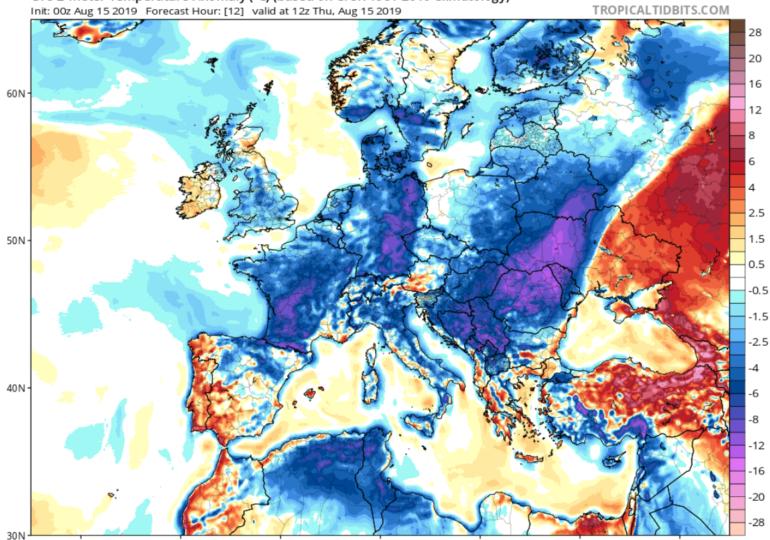 Σκαμπανεβάσματα της θερμοκρασίας και τοπικές βροχές τις επόμενες ημέρες