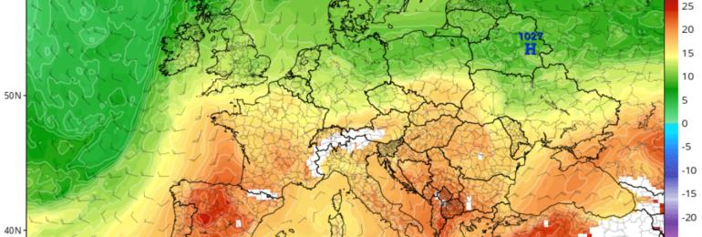 Θερμή αέρια μάζα από την Μέση Ανατολή αρχίζει να επηρεάζει την περιοχή μας