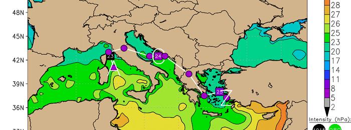 Μικρά σκαμπανεβάσματα της θερμοκρασίας και μικρή πιθανότητα τοπικών βροχών