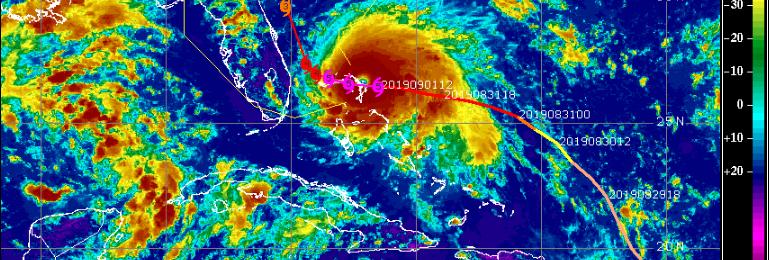 Σε καταστροφικό κυκλώνα κατηγορίας 5 έχει εξελιχθεί ο Ντόριαν (Εικόνες/Βίντεο)
