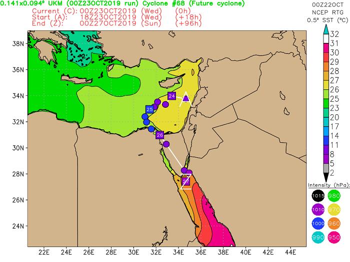 """Κτυπάει ο """"ΘΗΣΕΑΣ"""" τις επόμενες ώρες - Πιθανή εξέλιξη του σε μεσογειακό κυκλώνα (Medicane)"""