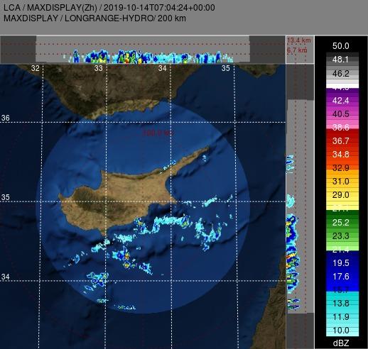 Έκτακτο δελτίο: Ξηρές καταιγίδες πλησιάζουν το νησί από τα νότια
