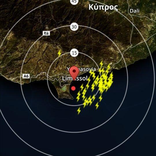 Έκτακτο δελτίο 2: Ισχυρές καταιγίδες αναμένεται να επηρεάσουν και πάλι την Λεμεσό
