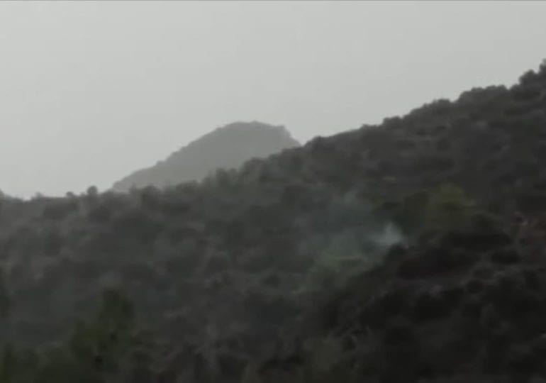 Πυρκαγιά από ξηρή καταιγίδα στην περιοχή Ανήφορα στο Πραστειό Κελλακίου