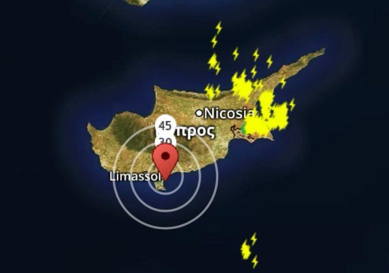 Έκτακτο δελτίο: Ισχυρές καταιγίδες άρχισαν να επηρεάζουν το νησί