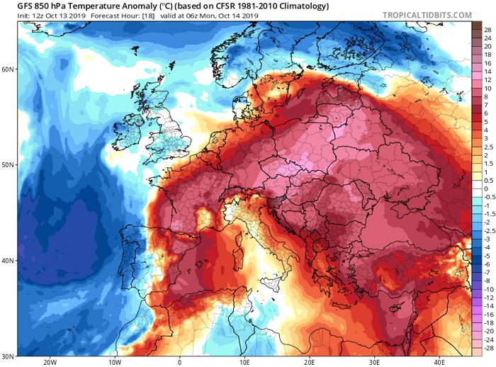 Κορυφώνονται αύριο οι θερμές αέριες μάζες - Πιθανότητα για μερικές σταγόνες βροχής
