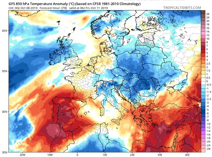 Υψηλές θερμοκρασίες και υψηλές νεφώσεις το χαρακτηριστικό των επόμενων ημερών