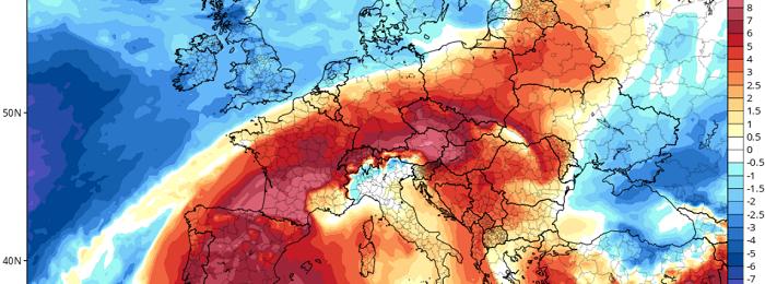 Θερμοκρασίες προχωρημένου Ιουνίου - Έως 6 βαθμούς πιο πάνω της κανονικής
