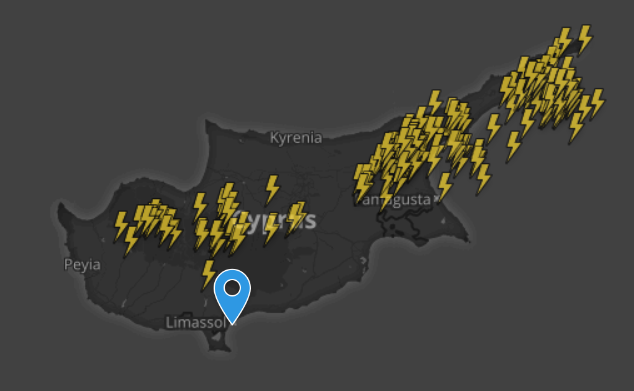 Τοπικά ισχυρές ή/και ακραίες καταιγίδες το απόγευμα - Πορτοκαλί προειδοποίηση σε ισχύ