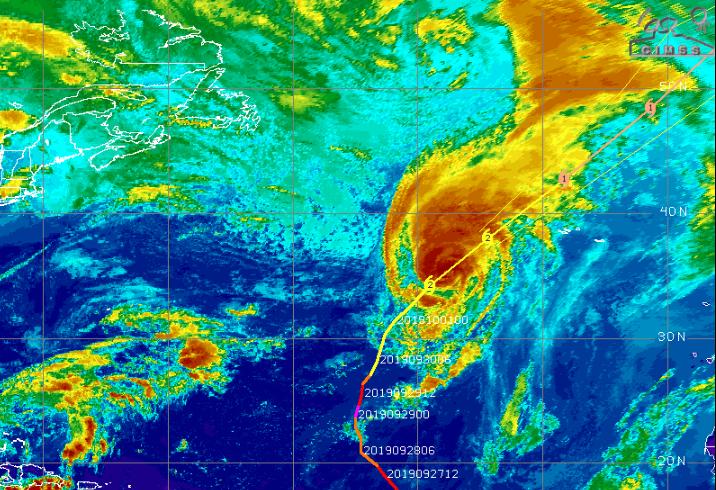 Ο τροπικός κυκλώνας Lorenzo χτυπάει τις Αζόρες και κινείται προς Ιρλανδία - Ηνωμένο Βασίλειο