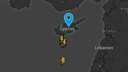 Ξηρές καταιγίδες πλησιάζουν το νησί μας από τα νότια
